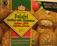 Hummus injected falafel balls