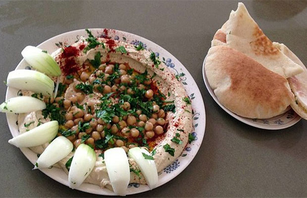 An absolute necessity: Hummus!
