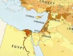 Harper atlas omits Israel, but customs officer in Gulf rejected shipments that listed Israel