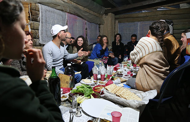 Passover with Palestinians and Settlers. Now I've seen it all.