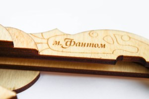 wooden case for jew's harp Phantom mini