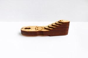wooden case for jew's harp Pilot