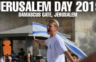 Jerusalem Day 2019 at Damascus Gate