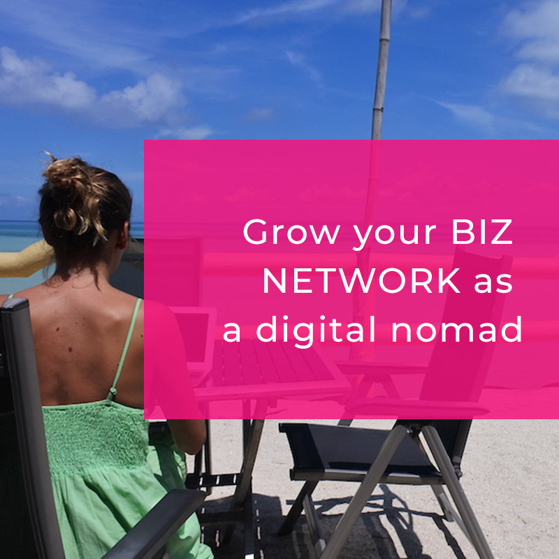 How to expand your business network as a digital nomad