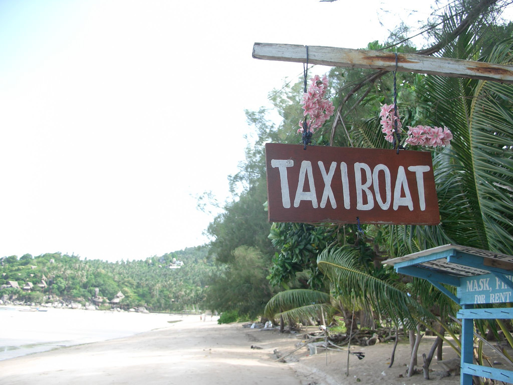 Thailand itinerary: Mae Haad Pier, the ferry services from Koh Tao to Koh Samui