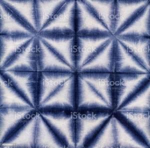 technique shibori pliage compression