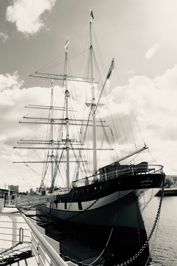 The Glen Lee aka the Tall Ship by Jez Braithwaite