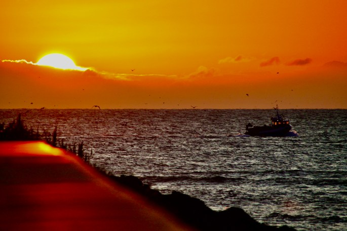 Arbroath Sunrise by Jez Braithwaite