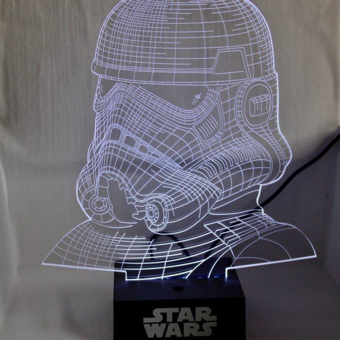 Stormtrooper Lamp by Jez Braithwaite