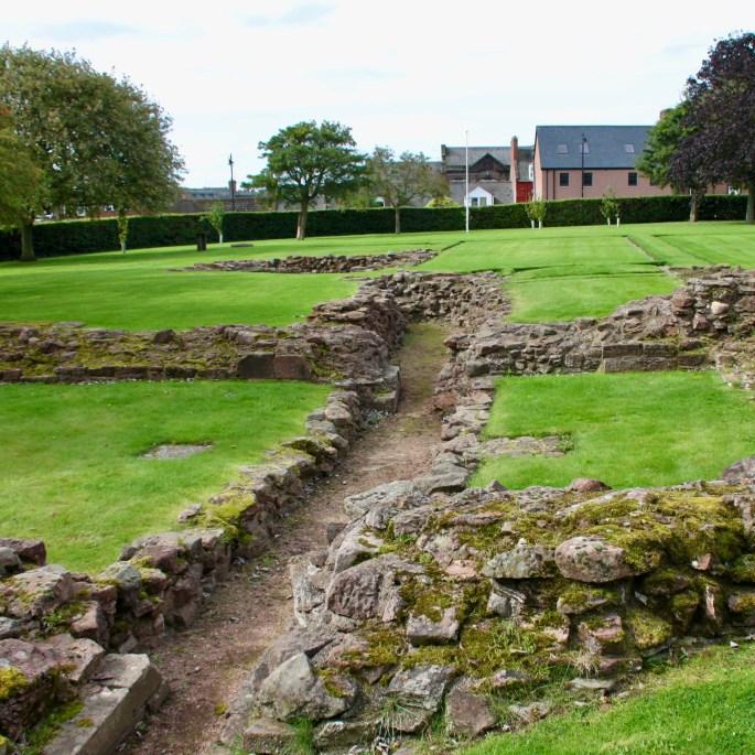 Arbroath Abbey Ruins by Jez Braithwaite