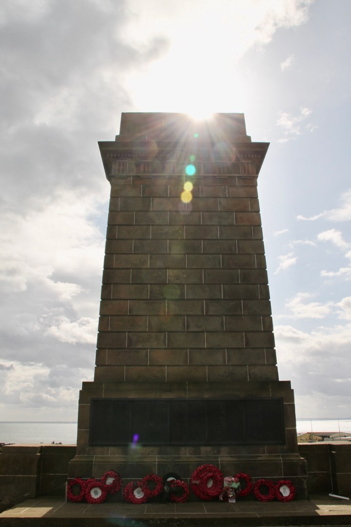 Arbroath Memorial by Jez Braithwaite