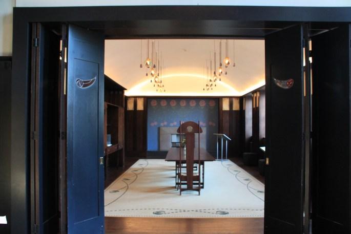 Doors into dining room by Jez Braithwaite