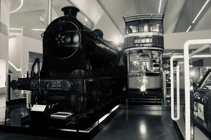 Locomotive & tram
