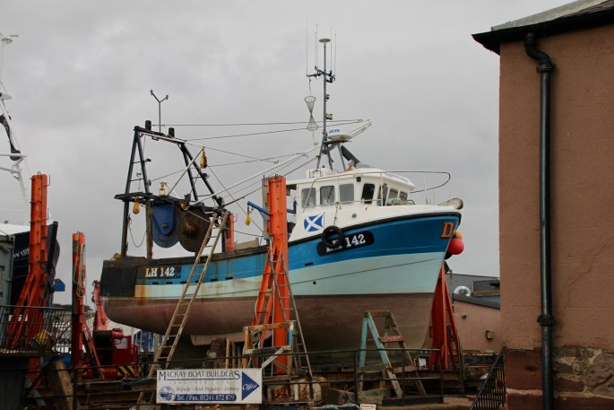 Arbroath boatyard