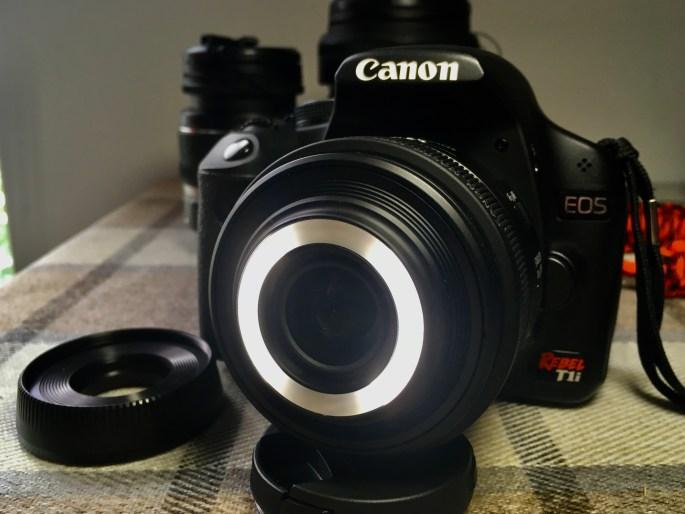 Lens light both sides