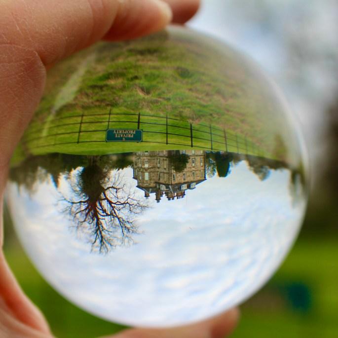 Through a lensball