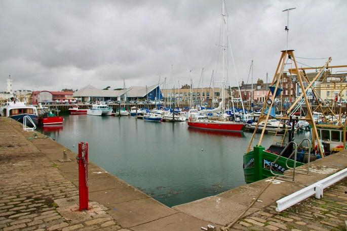 Dockside in Arbroath Harbour