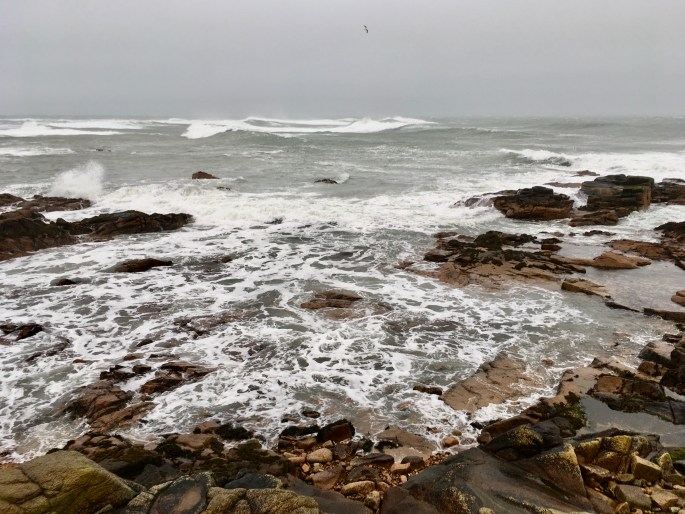 Plenty of whitecaps during a gale