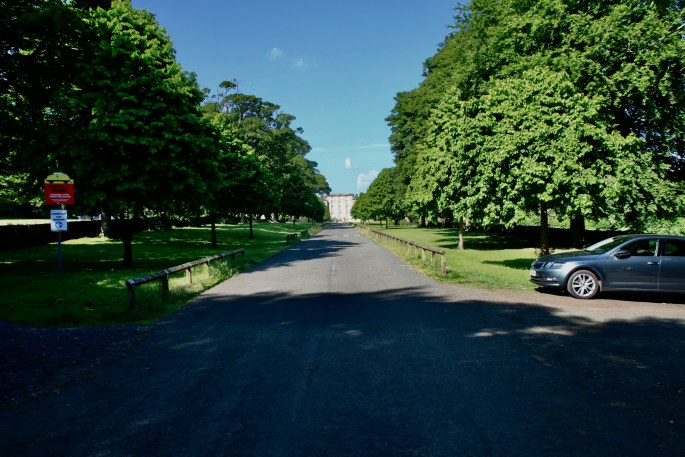Road leading to Kinneil House