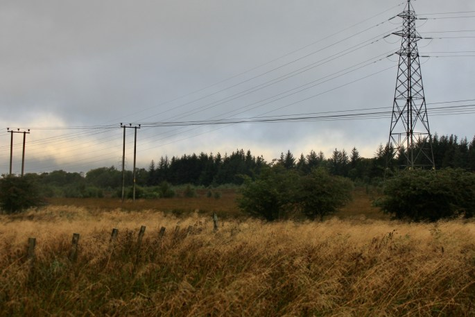 Low clouds over Palacerigg Country Park