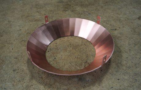 Kupfer Trichter