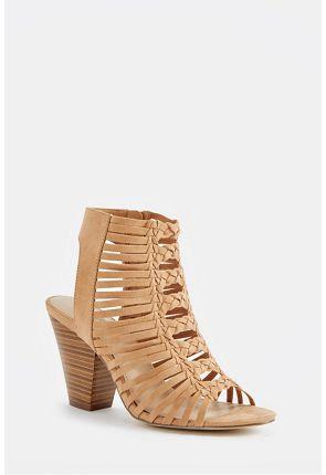 Abba Heeled Sandal