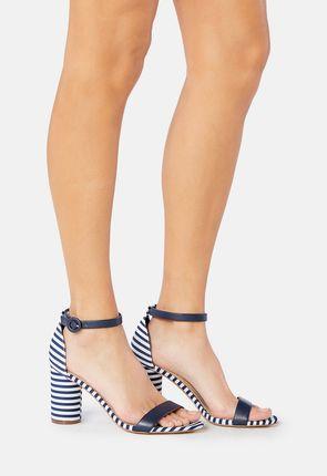 Jacey Cylinder Heeled Sandal