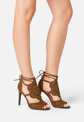 Kitara Ankle Tie Heel