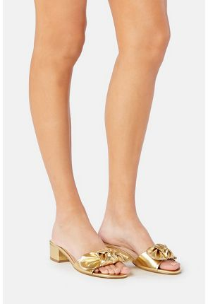 Etna Bow Top Slip-On Mule