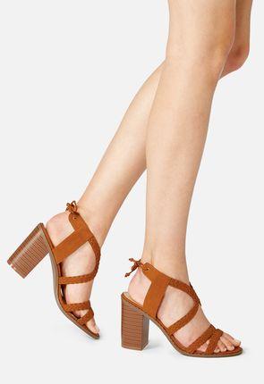 Brenda Braided Heeled Sandal