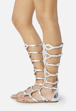 Angeline Beaded Gladiator Sandal