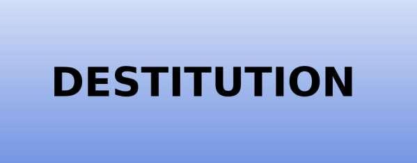 CENTRAFRIQUE – La destitution dans la Constitution : ce qu'il faut savoir [petit cours de droit constitutionnel sur la manière de chasser démocratiquement nos gouvernants]