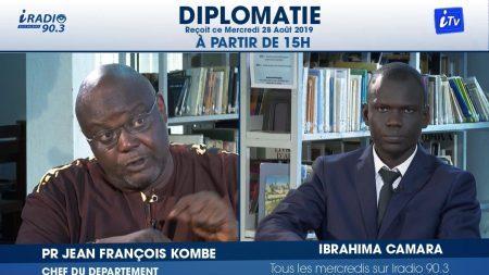 Entretiens de Dakar – invité de l'émission «Diplomatie» de iRadio & iTv [Vidéo]