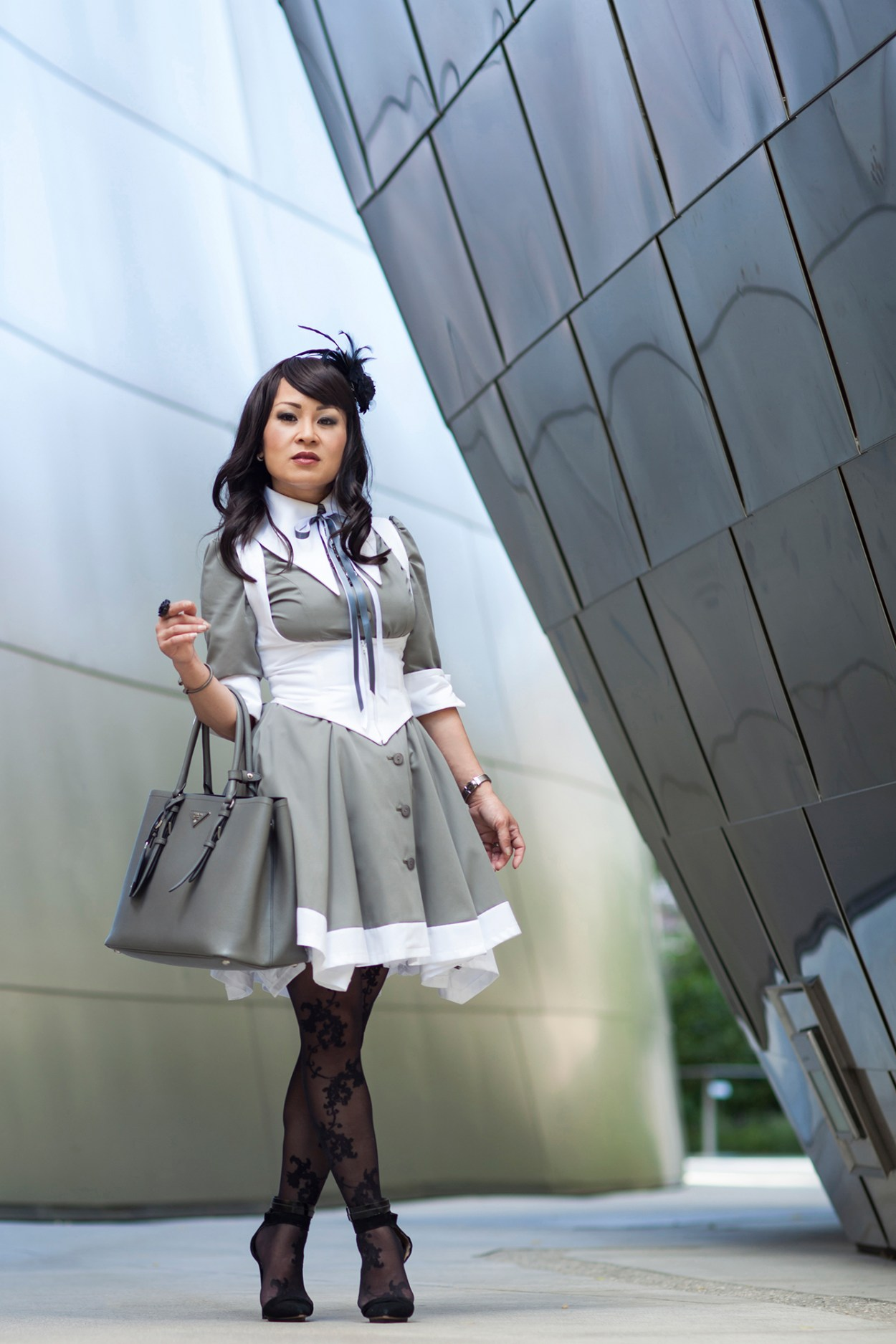 9-Atelier-BOZ-Carol-Neo-Dress-Female-Women-Fashion-Lolita-JFashion-Prada-Urban-Disney-Hall-Los-Angeles