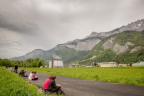 Ecole de terrain de fin d'année pour les Licences 3eme année en sciences de la Terre de l'Université de Dijon (Maconnais-Jura-Mont-Blanc). Au programme : études géomorphologiques, environnementales, sédimentologiques et tectoniques.