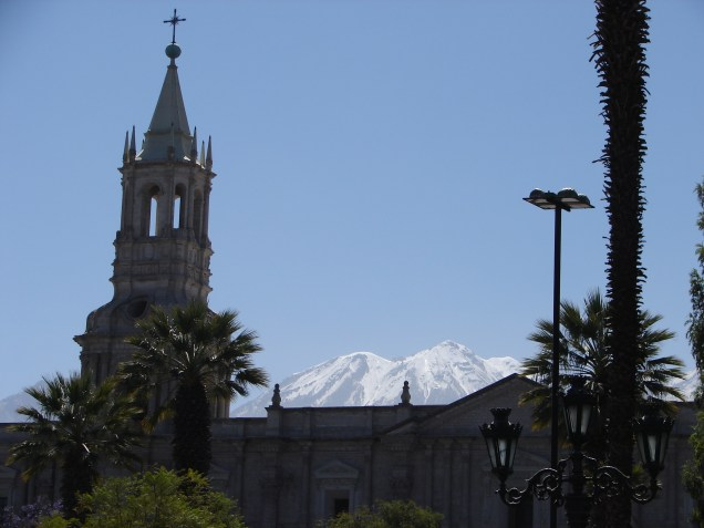 View from the plaza.