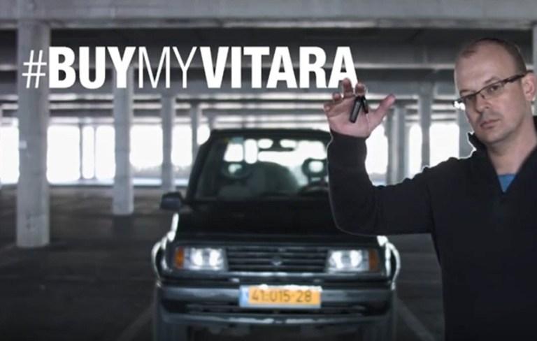 Read more about the article Sa vidéo pour vendre son vieux Suzuki 1996 obtient 5 millions de visionnements