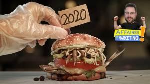 Read more about the article Burger King présente un hamburger qui reflète l'année 2020