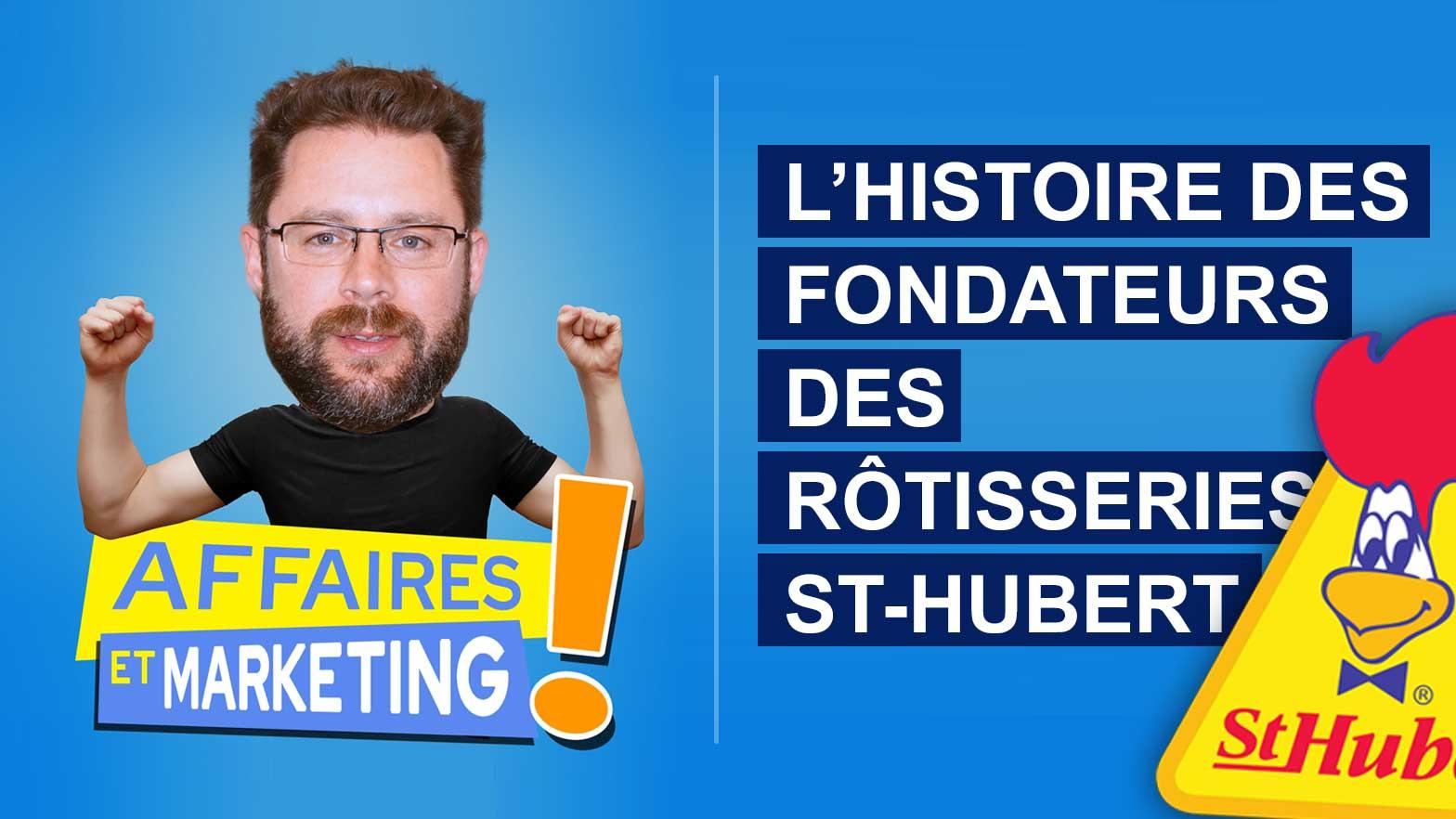 L'histoire des fondateurs des rôtisseries St-Hubert