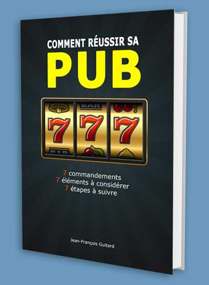 Livre comment réussir sa pub