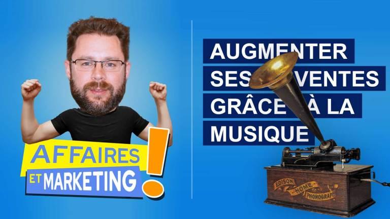 Read more about the article Podcast | E7 : Augmenter ses ventes grâce à la musique