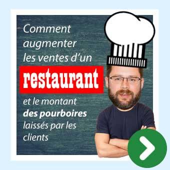 Conférence restaurateurs : Augmenter les ventes d'un restaurant