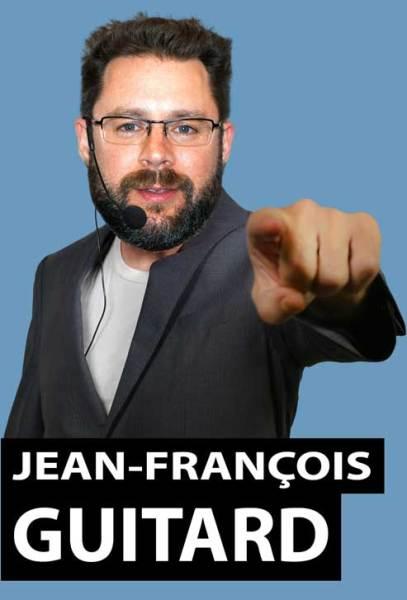 Jean-François Guitard, conférencier pour entreprises et organisations