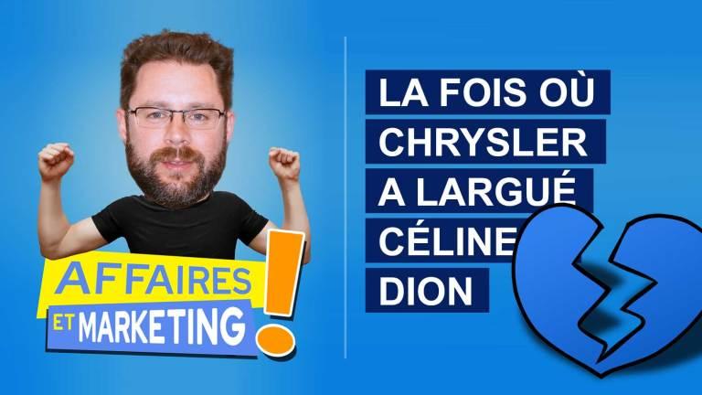 Read more about the article Podcast | E11: La fois où Chrysler a largué Céline Dion
