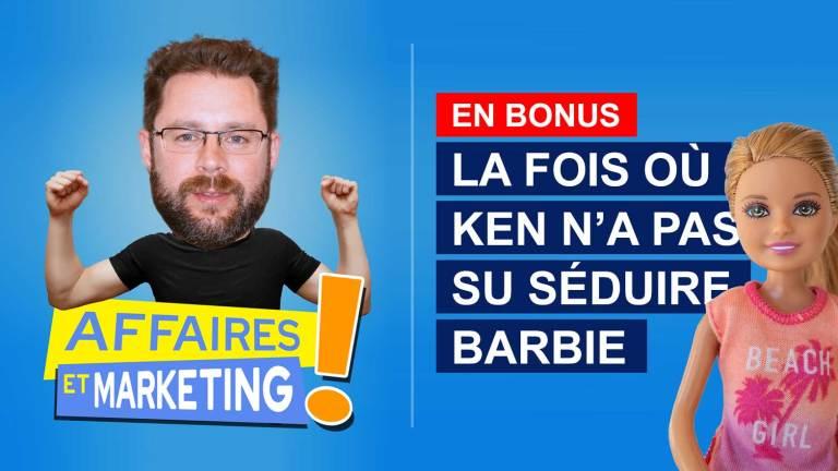 Read more about the article Podcast | E16 (bonus): La fois où Ken n'a pas su séduire Barbie