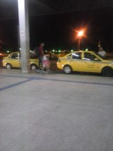 Ponto de taxi da rodoviária