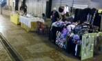Parte do comércio na noite de domingo. Foto: Felipe Reis
