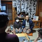 福島第一原発から約15㌔離れた楢葉町に昨年9月帰還した草野さんご夫妻。夫の功さんは84歳、妻の八重子さんは76歳/2016年5月24日