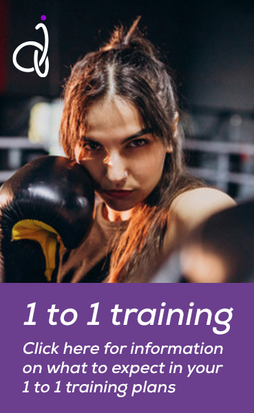 1 to 1 training. Click here for information on what to expect in your 1 to 1 training plans