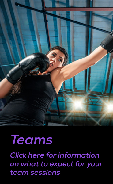 Teams. Click here for information on what to expect for your team sessions.